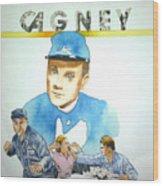 James Cagney Wood Print