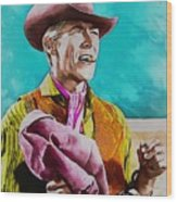 James Coburn Wood Print