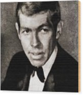 James Coburn, Vintage Actor Wood Print