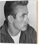 James Dean, 1955 Wood Print