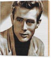 James Dean, Actor Wood Print