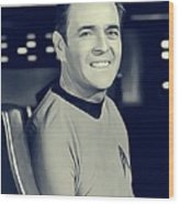 James Doohan, Scotty Wood Print