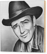 James Drury Wood Print