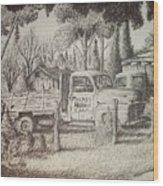 James Farm Wood Print
