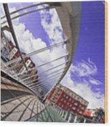 James Joyce Bridge Wood Print