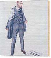 James Montgomery Flagg, 1918 Wood Print