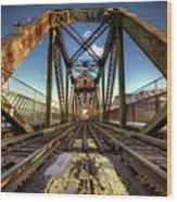 James Street Swing Bridge Wood Print