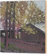 James's Barns 9 Wood Print