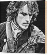 Jamie Fraser Wood Print