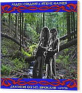 Jamming On Mt. Spokane 1 Wood Print