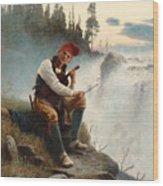 Jamtlands Sagen Wood Print