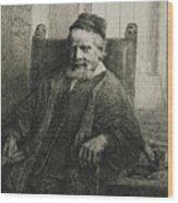 Jan Lutma, The Elder, Goldsmith And Sculptor Wood Print