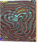 Janca Abstract Ovoid Panel 9646w9a Wood Print
