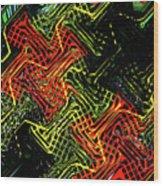 Janca Abstract Panel #5473w3 Wood Print