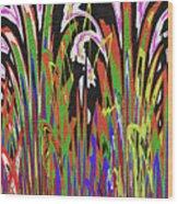 Jancart Drawing Abstract #8455wtpc Wood Print