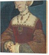 Jane Seymour Wood Print by Holbein