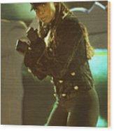 Janet Jackson 94-3022 Wood Print