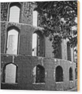 Jantar Mantar - Monochrome Wood Print