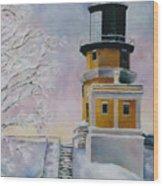 Januarys Light Wood Print