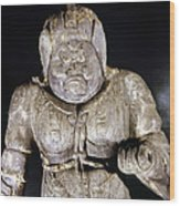 Japan: Buddhist Statue Wood Print