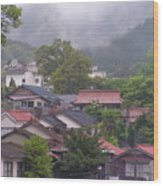 Japan Countryside Wood Print