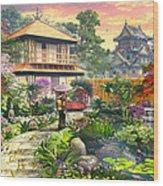 Japan Garden Variant 2 Wood Print