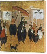 Japan: St. Francis Xavier Wood Print by Granger