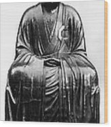 Japan: Zen Priest Wood Print