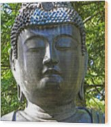 Japanese Buddha Wood Print