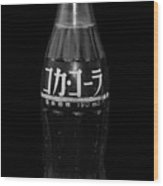 Japanese Coca Cola Wood Print