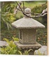 Japanese Friendship Garden 1 Wood Print