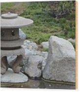Japanese Friendship Garden 5 Wood Print
