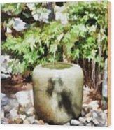 Japanese Garden 6 Wood Print