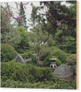Japanese Garden IIi Wood Print