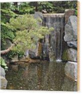 Japanese Garden V Wood Print