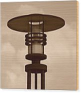 Japanese Lamp Wood Print