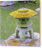 Japanese Lantern Wood Print