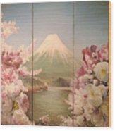 Japanese Spring Wood Print