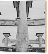 Japanese Texture #74 Wood Print