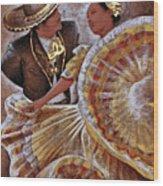 Jarabe Tapatio Dance Wood Print