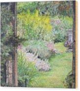 Jardin Wood Print