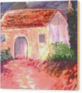 Jardono Wood Print