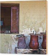 Jars Wood Print by Armando Picciotto