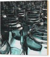 Jars Wood Print by Joel Lueck