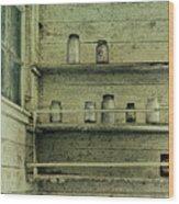Jars Wood Print