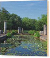 Jasmine Hill Gardens Wood Print