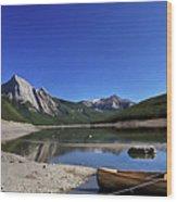 Jasper Alberta Wood Print