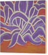 Java Aguave Wood Print