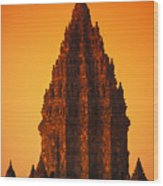 Java, Prambanan Wood Print