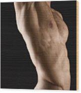 Javier Torso 1 Wood Print